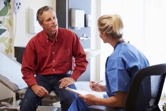 На консультации у врача-проктолога