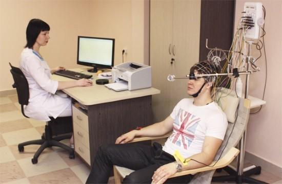 Проведение электроэнцефалографии