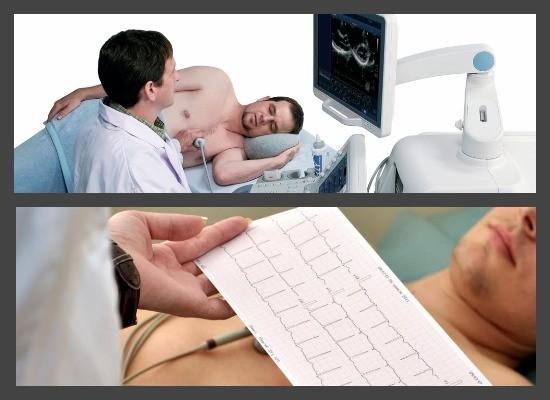 УЗИ сердца и электрокадриограмма